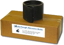 Gorilla Tough Abrasive Belts