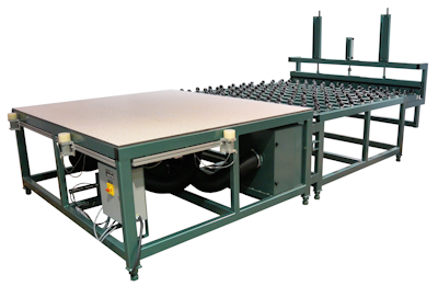 Applicator & Hot Melt Clamp Combination Table