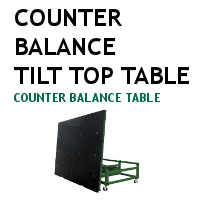 Counter Balance Tilt Top Table