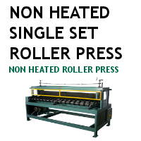 Non Heated Single Set Roller Press