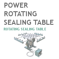 Power Rotating Sealing Table