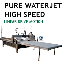 Pure WaterJet High Speed Linear Drive Motion