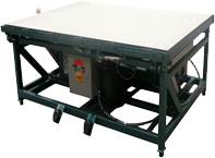 Tilt Top Grid Applicator Table