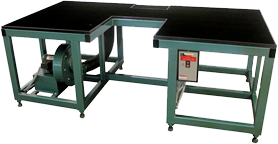 Twin Seamer Air Float Table