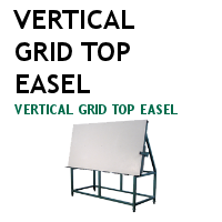 Vertical Grid Top Easel